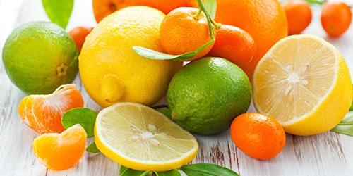 Dieta a base de frutas cítricas